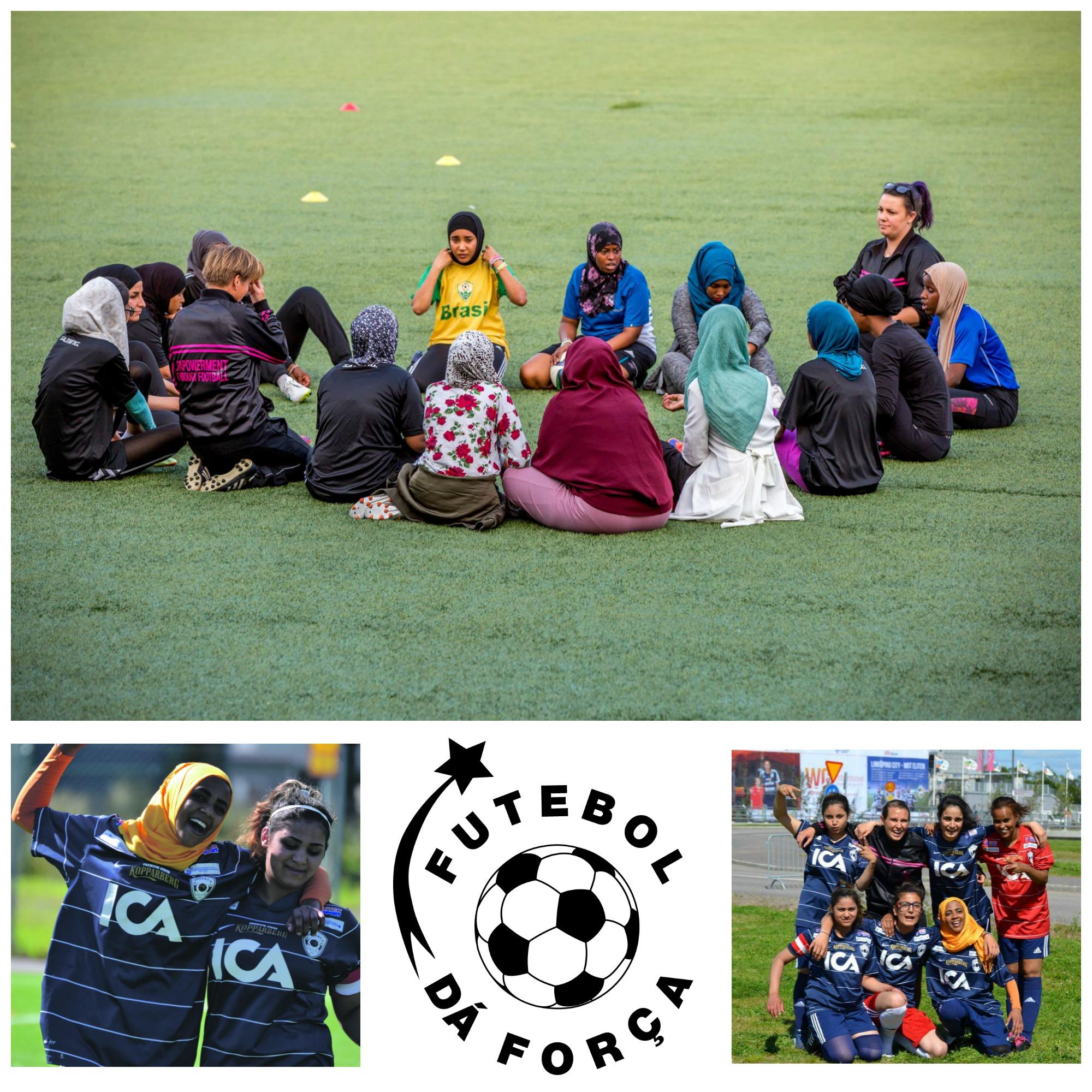 600 ledare coachar över 8000 tjejer i fyra länder. Varje vecka. Foto: FUTEBOL DÁ FORÇA