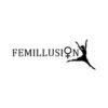 Femillusion är ett svenskt klädmärke skapat av två kvinnor från Stockholm. Syftet är att sprida ett positivt budskap med ett feministiskt perspektiv. Alla produkter är handtryckta med miljöfärg. De tar också emot beställningar av textiltryck som harmonierar med deras värdegrund.